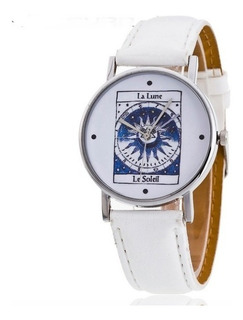 Reloj Tarot - Sol - Luna - Magia - Astrologia - Carta