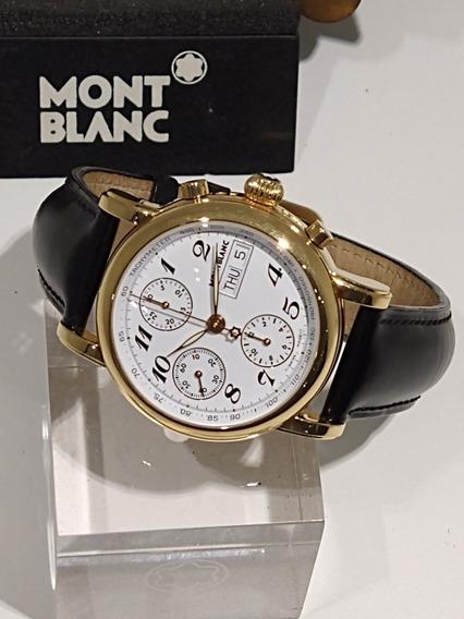Relógio Montblanc Chronograph Automático 29001 Meisterstuck