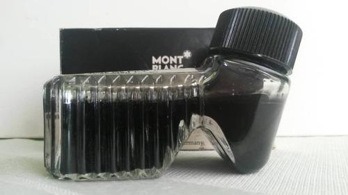 Tinta Para Pluma Fuente Negro O Azul Montblanc