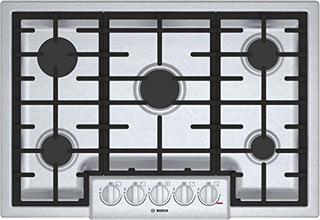Bosch 800 Series 30 Acero Inoxidable 5 Quemadores De Cocina
