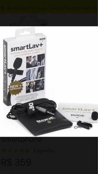 Microfone De Lapela Rode Smartlav Plus Promoção Frete Gratis