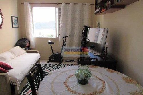 Imagem 1 de 12 de Apartamento Com 1 Dormitório À Venda, 44 M² Por R$ 140.000,00 - Gonzaguinha - São Vicente/sp - Ap2496