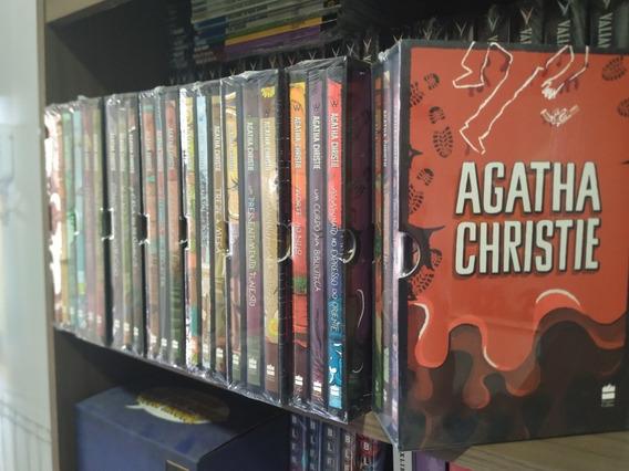 Coleção Agatha Christie (8 Boxes, 24 Livros) Lacrados