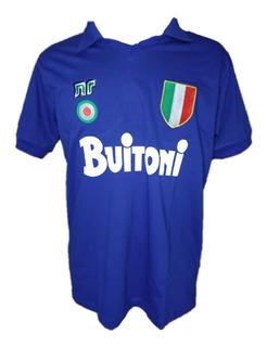 Camisa Retrô Napoli 1987-88 Oferta