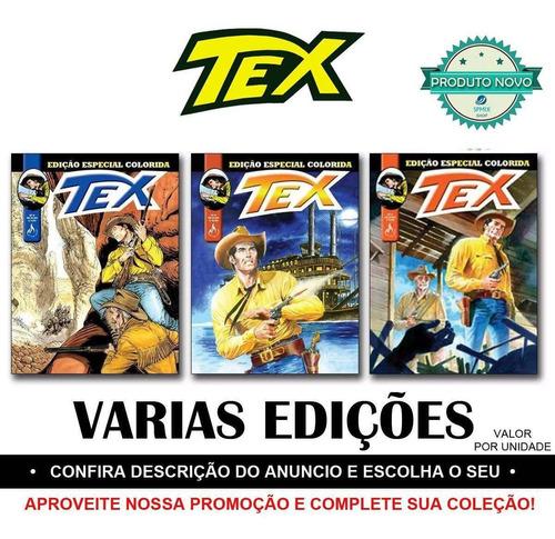 Tex Edição Especial Colorida Novas Revista Faroeste
