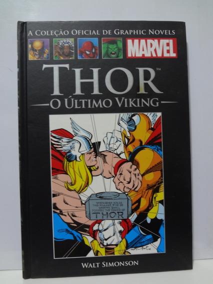 Gibi Hq Thor O Ultimo Viking Graphic Novels
