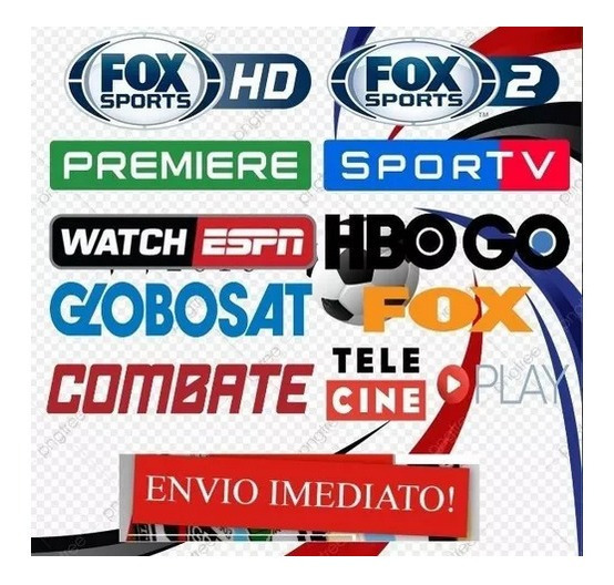 Acesso A Todos Premiere, Fox Sport, Hbo, Telecine...
