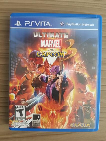 Jogo Ultimate Marvel Vs. Capcom 3 Ps Vita