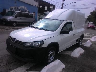 Volkswagen Saveiro 1.6 Startline 2015 Refrigerada -15° Novo