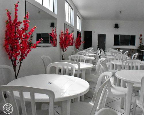 Imagem 1 de 10 de Salão De Festas Para Locação