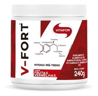 V-fort - 240g Frutas Vermelhas - Vitafor