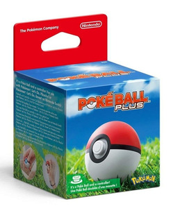 Poke Ball Plus - Nintendo Switch - Para Pokemon Let