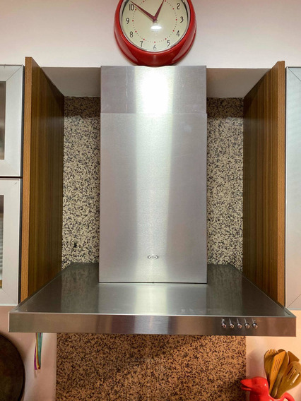 Campana De Cocina Tst Nihuil 60cm Acero Inox