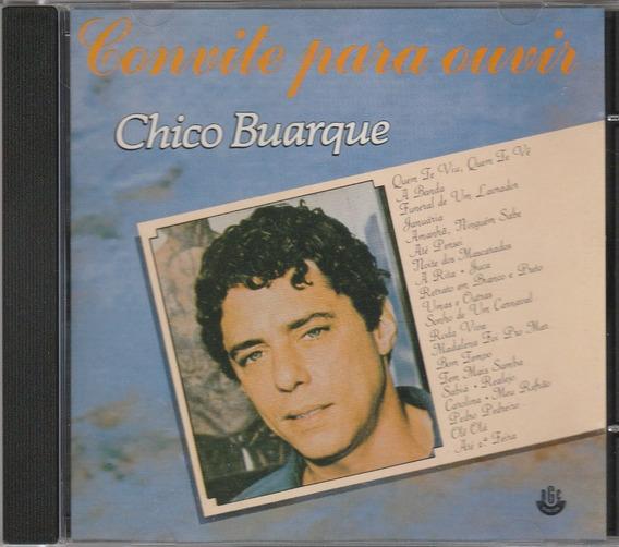 Chico Buarque - Cd Convite Para Ouvir - Sucessos - 1993