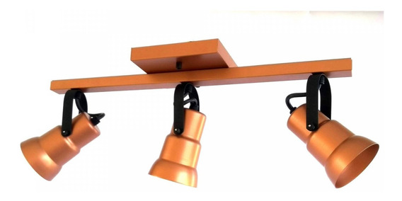 Spot Decorativo Triplo Trilho Isadora Design Hb
