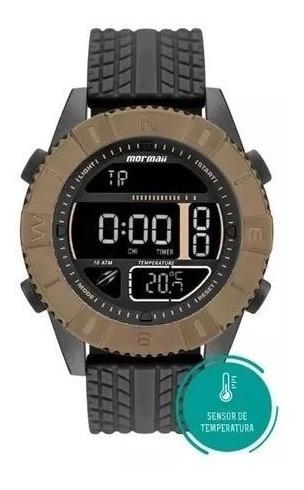 Relógio Mormaii Acquaforce Temperatura Marrom Mo5334ad/8p