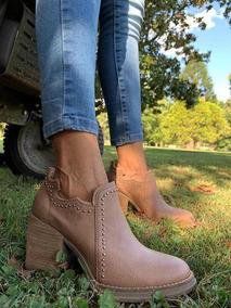Texana Charritos Zapatos Mujer Dama Botas Botitas A.159