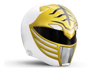 Mighty Morphin Power Rangers - White Ranger Helmet Hasbro