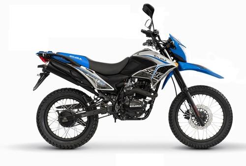 Imagen 1 de 6 de Gilera Sahel 150 Azul Enduro Eccomotor