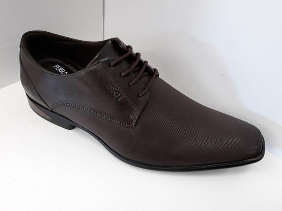 Zapato Hombre Casual Ferracini Sidney Cuero Vacuno Cordon