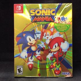Jogo Nintendo Switch Sonic Mania Plus Com Artbook - Físico