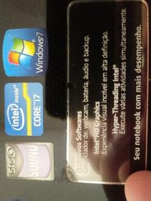 Notebook Sim Positivo, Processador I7, 16 Gb De Memória