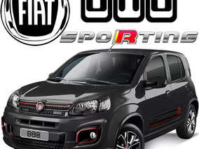Fiat Uno 1.4 Sporting Mt Abs Airbag R14 85hp Ac Alarma Arh
