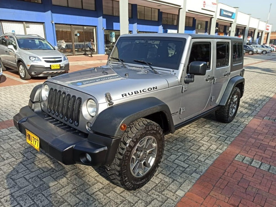 Jeep Wrangler Unlimited Rubicon 3.6 4x4 2015 Blindaje 2 +