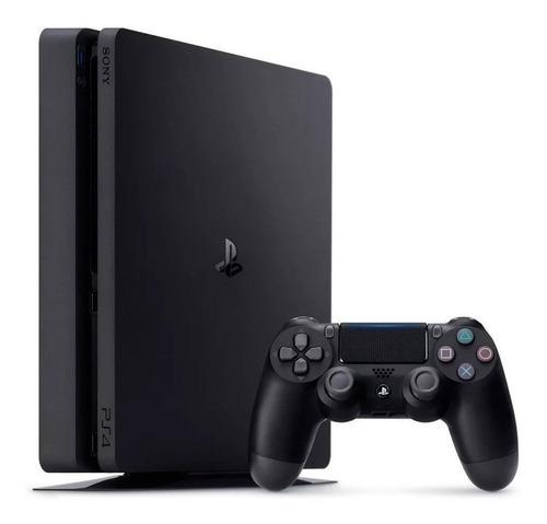 Imagen 1 de 2 de Sony PlayStation 4 Slim 1TB Hits Bundle: Days Gone/Detroit: Become Human/Tom Clancy's Rainbow Six Siege Deluxe Edition color  negro azabache