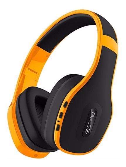 Fone De Ouvido Headphone Pulse Bluetooth 4.0 Amarelo Ph151