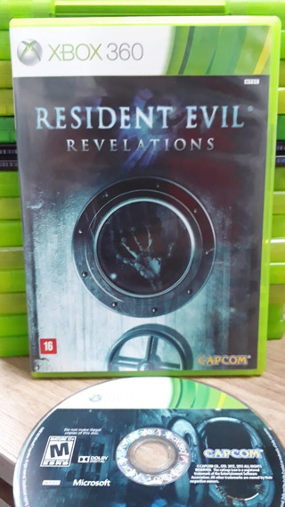 Resident Evil Revelations Xbox 360 Fisica Semi Novo