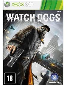 Watch Dogs Xbox 360 Jogo Original Lacrado Novo Mxtgm