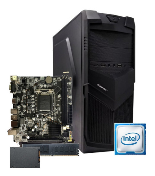 Cpu Bg3521 Intel Core I5 2400 Mb H61 8gb Ssd 120gb 350w C/nf