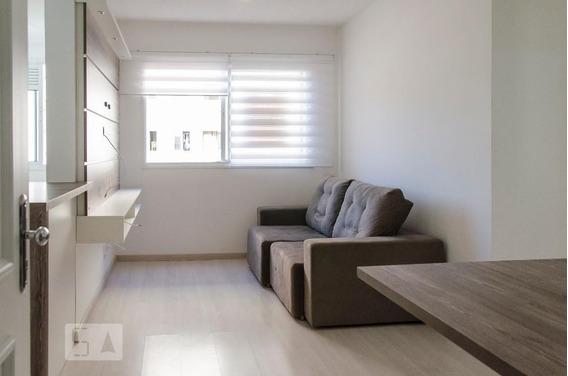 Apartamento No 2º Andar Mobiliado Com 2 Dormitórios E 1 Garagem - Id: 892974544 - 274544