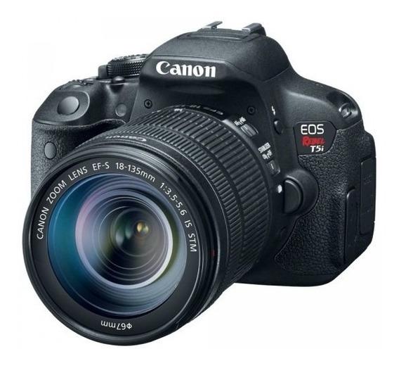 Câmera Canon T5i Profissional Lente 18-135mm + Flash 565ex