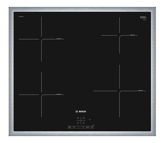 Anafe Eléctrico De Induccion Bosch Pue645bb1e Negro 60cm Pce