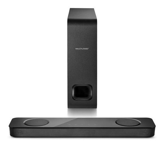 Caixa De Som Soundbar Multilaser Sp300 Bluetooth 120w Rms