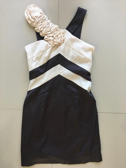 Vestido Moderno Hermoso Bicolor Velvet Oak