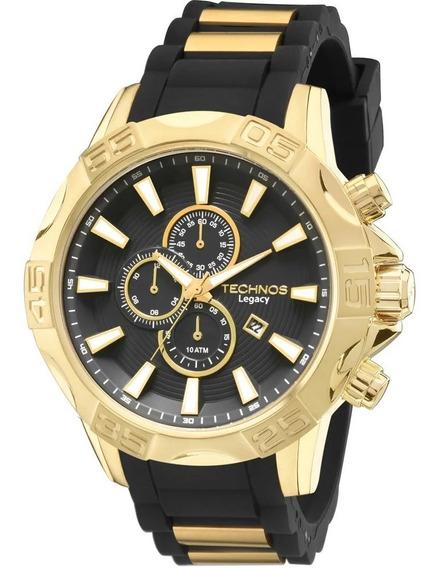 Relógio Technos Masculino Cronógrafo Legacy Os10ew/8p