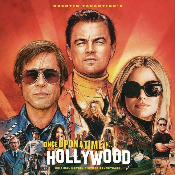Soundtrack Once Upon A Time In Hollywood Cd Importado Stock