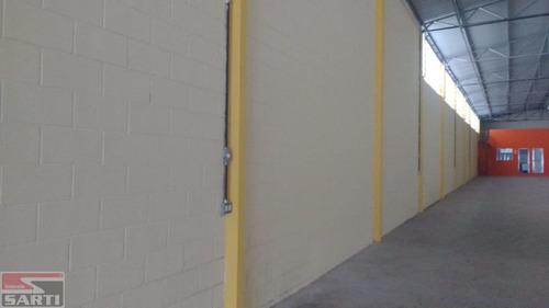Galpão Com Pintura Nova , Casa Verde , Com 2 Pisos - St17778