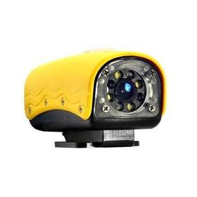 Com Defeito Para Peça Sports Action Câmera 20m Rd32 Amarela