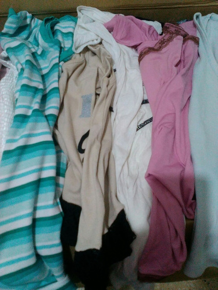 Lote 50 Remeras Musculosas Talle S Y M Usadas Mujer