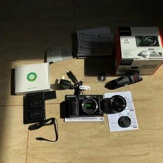 Cámara Sony Alpha 6000 16-50mm + Mochila Lowepro Remate