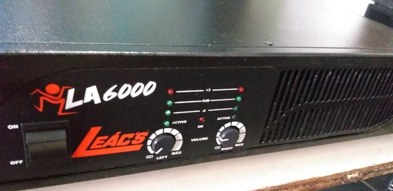 Potencia Leacs La 6000 -1000 W Rms - Semi Nova
