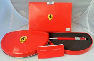 Boligrafo Producto Oficial Ferrari C/estuche Fotos Reales # A98