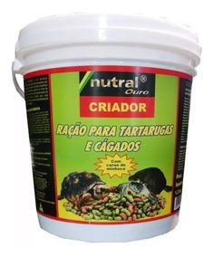 Ração Nutral Criador Para Tartarugas Jabuti Cágados 1,300kg