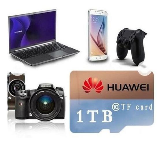 Cartão De Memoria 1tb Micro Sd Pra Smartphone Camera Mp3 Gps
