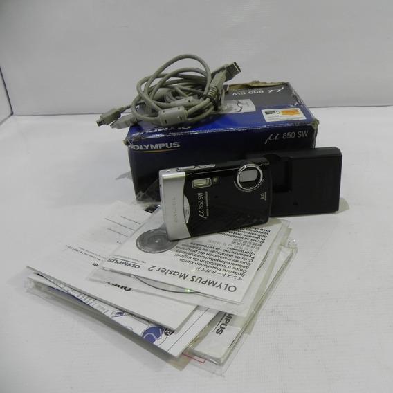 Olympus Stylus 850sw 8 Mp Câmera Digital Com Zoom Óptico 3x
