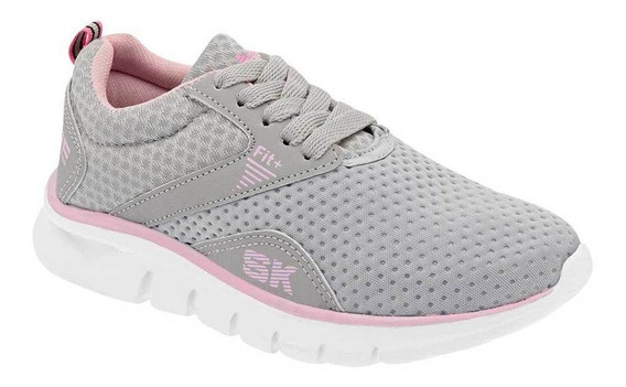 Tenis Skyline 1174 Color Gris Niña Shoes Pk